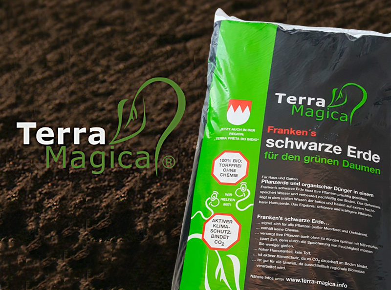 Terra Magica - Schwarze Erde für den grünen Daumen!